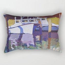 Deadrise Rectangular Pillow