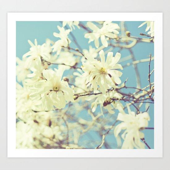 Spring In Blue Art Print