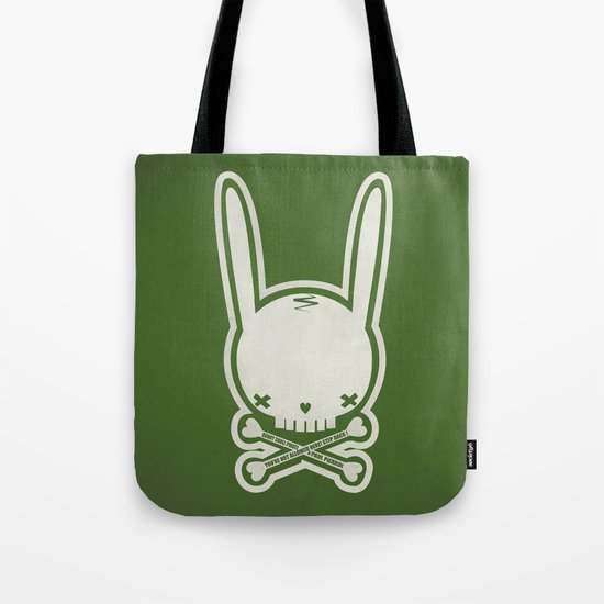 SKULL BUNNY of PIRATE - EP02 MOSS V. Tote Bag
