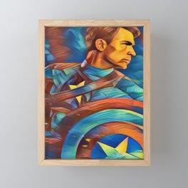 Steve Framed Mini Art Print