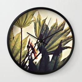 full moon maple no.1 Wall Clock