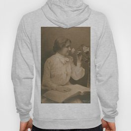 Helen Keller Vintage Photo, 1904 Hoody