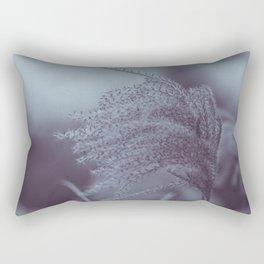Gentle winter grass Rectangular Pillow