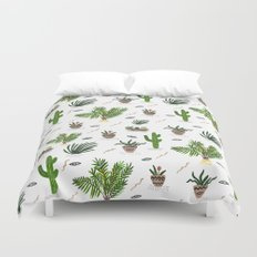 PLANTS ARE MY FRIENDS Duvet Cover