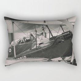 Vintage Aircraft print Rectangular Pillow
