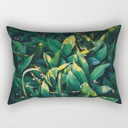 Evening in the garden Rectangular Pillow
