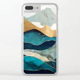 Blue Whale Clear iPhone Case
