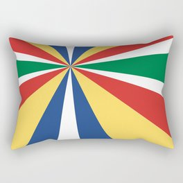 Diversions #1 Perspective 2 Rectangular Pillow