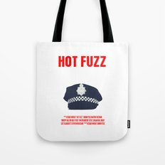 Hot Fuzz Movie Poster Tote Bag
