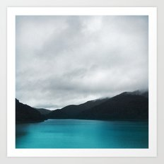 The Waters And The Wild Art Print