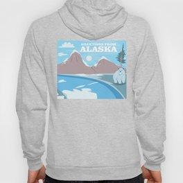 Greetings From Alaska Polar Beer & Mountains Hoody