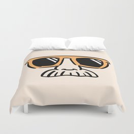 Too Cool (yellow orange) Duvet Cover
