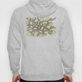 Yellow Fragmentation Hoody