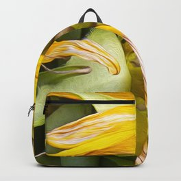 A Flower Of Sunshine Seed Lights Backpack