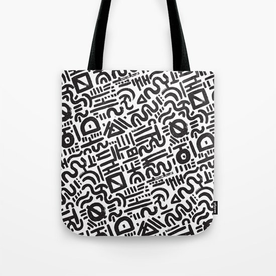 Abstract 0018 Tote Bag