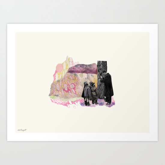 Lesson Learned Art Print