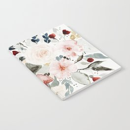 Loose Watercolor Bouquet Notebook