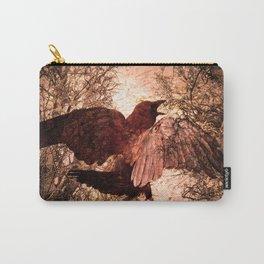 Crow Speach Carry-All Pouch