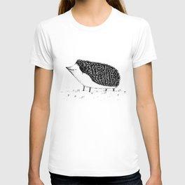 Monochrome Hedgehog T-shirt