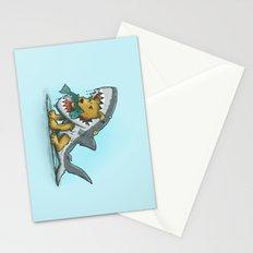 Shark Suit Dog Stationery Cards