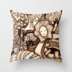 Snake (Color Variant) Throw Pillow