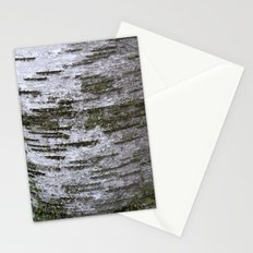 mossy birch Stationery Cards