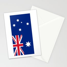 Australian flag Stationery Cards