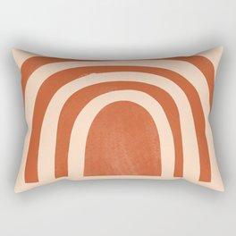 bronze rainbow Rectangular Pillow