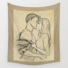 valentine kiss #10 Wall Tapestry
