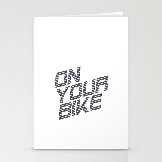 Bike. Stationery Cards