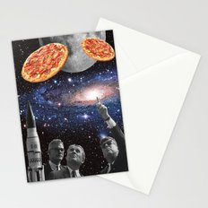 they are coming (pizza) Stationery Cards