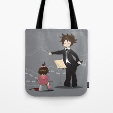 The little conductor Tote Bag