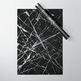Silver Splatter 090 Wrapping Paper