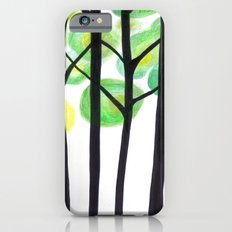 blacks trees iPhone 6s Slim Case