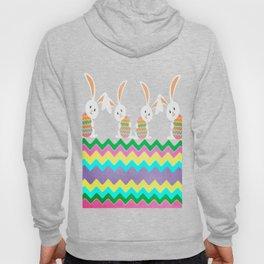 Easter Chevron Pattern Hoody