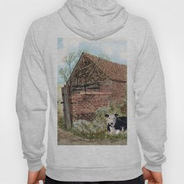 Farm Shed with Cow Hoody