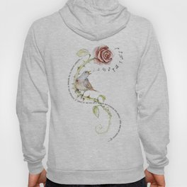 The nightgale and the rose Hoody