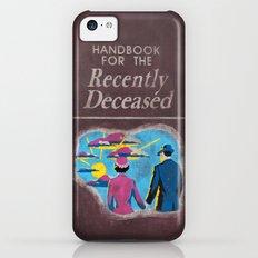 Beetlejuice - Handbook for the recently deceased iPhone 5c Slim Case