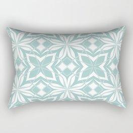 Decorative floral pattern Rectangular Pillow
