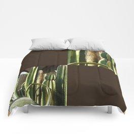 Cactus Garden Blank Q3F0 Comforters