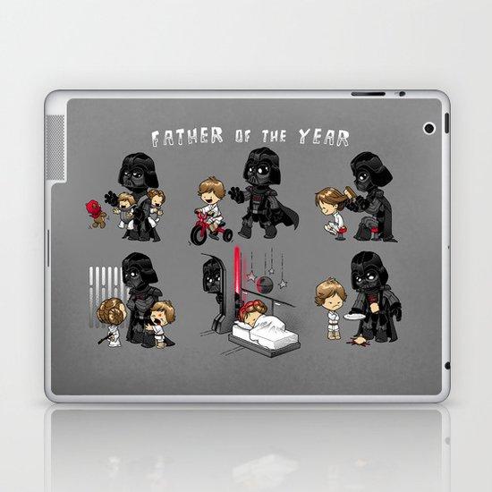Father of the Year Laptop & iPad Skin