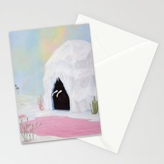 Lady of the Pink Lake Stationery Cards