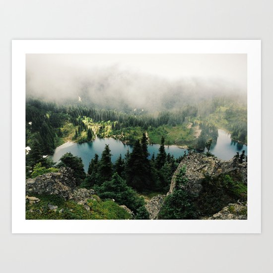 Rainier Eunice Lake Art Print