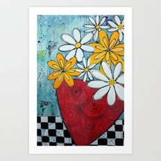 Build me up buttercup Art Print