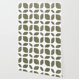CAHOKIA MOD (TERRARIUM MOSS), pattern by Frank-Joseph Wallpaper