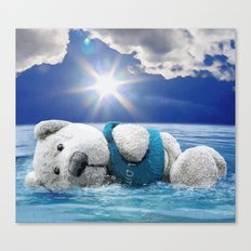 Kostas Lost At Sea Canvas Print
