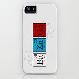 BaZnGa iPhone Case