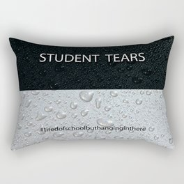 Student Tears Rectangular Pillow