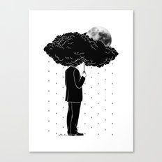 My life is a Storm Canvas Print