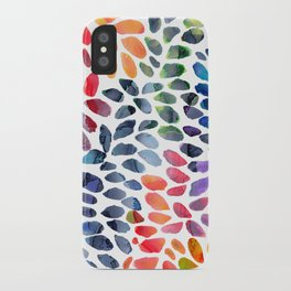 Colorful Painted Drops iPhone Case